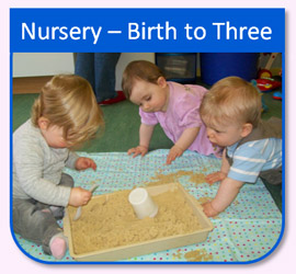 Nursery birth to three - Children at play Great Western Aberdeen