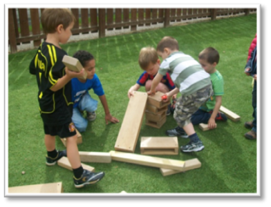 Capacities effective contributors at Great Western Pre-School Nursery Aberdeen