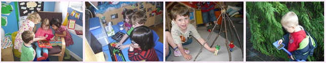 Curriculum for Excellence at Great Western Pre-School Nursery Aberdeen